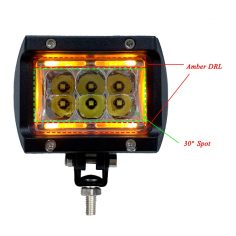 4″ 30W Offroad LED Work Light ATV SUV 4wd 4×4 LED Light Daytime Runing Light For Offroad 4×4 4WD SUV ATV Truck Car
