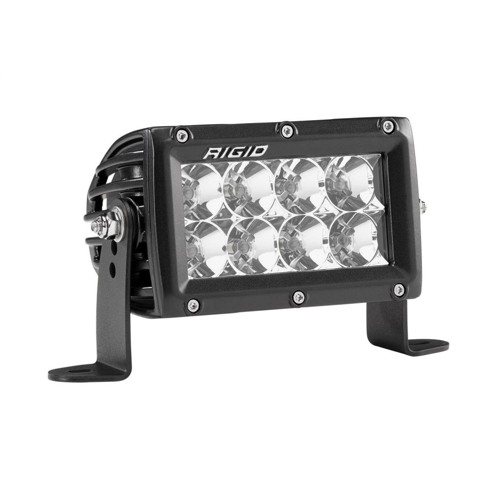 Rigid Industries E-Series Pro 4 Flood LED Light Bar - 104113 | 4wheelparts.com