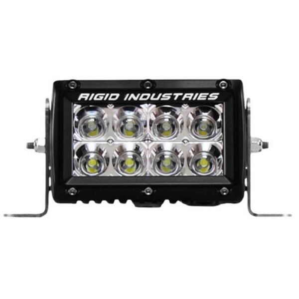 Rigid Industries E-Series 4 Flood LED Light Bar - 104122 | 4wheelparts.com