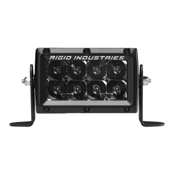 Rigid Industries E-Series Midnight Optic 4 Spot LED Light Bar - 104213BLK | 4wheelparts.com