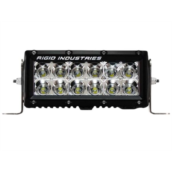 Rigid Industries E-Series 6 Flood Light Bar - 106122 | 4wheelparts.com