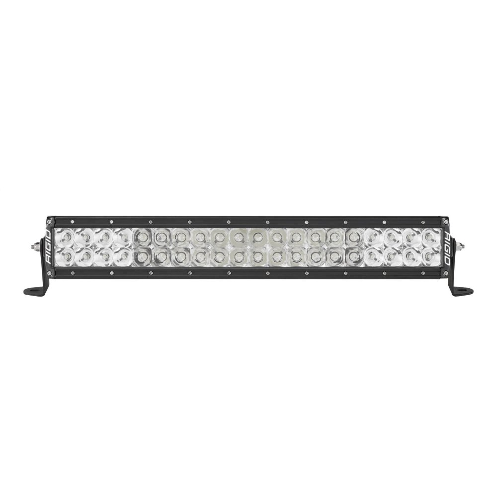 Rigid Industries E-Series Pro 20 Spot/Flood Combo LED Light Bar (Black) - 120313 | 4wheelparts.com