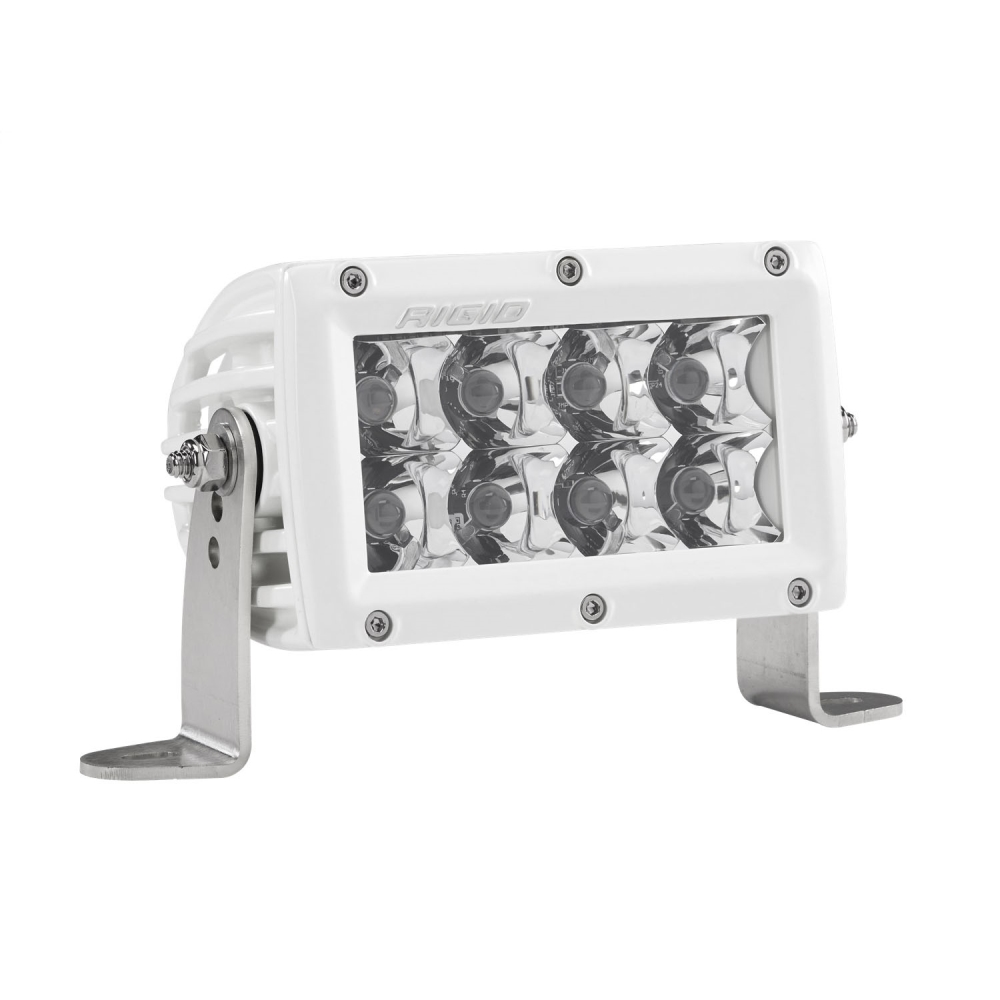 Rigid Industries E-Series 4 Spot LED Light Bar (White) - 804213 | 4wheelparts.com