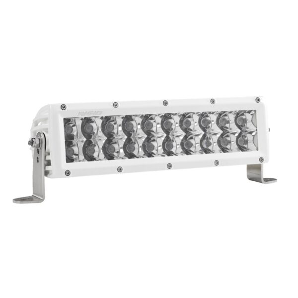 Rigid Industries E-Series 10 Spot LED Light Bar (White) - 810213 | 4wheelparts.com