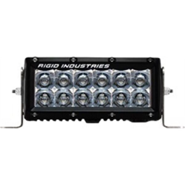 Rigid Industries E-Series 6 Spot LED Light Bar - 106222 | 4wheelparts.com