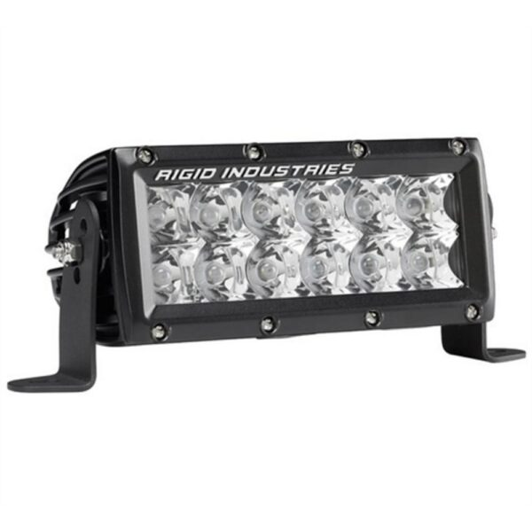 Rigid Industries E-Series E-Mark Certified 6 Spot LED Light - 106212EM | 4wheelparts.com